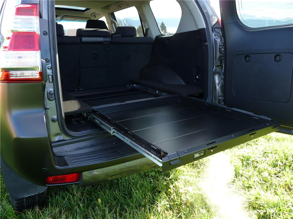 Land Cruiser KDJ120 - plateau coulissant